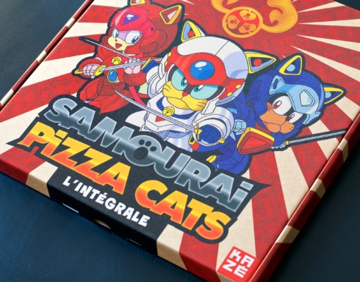 Samourai Pizza Cats Collector