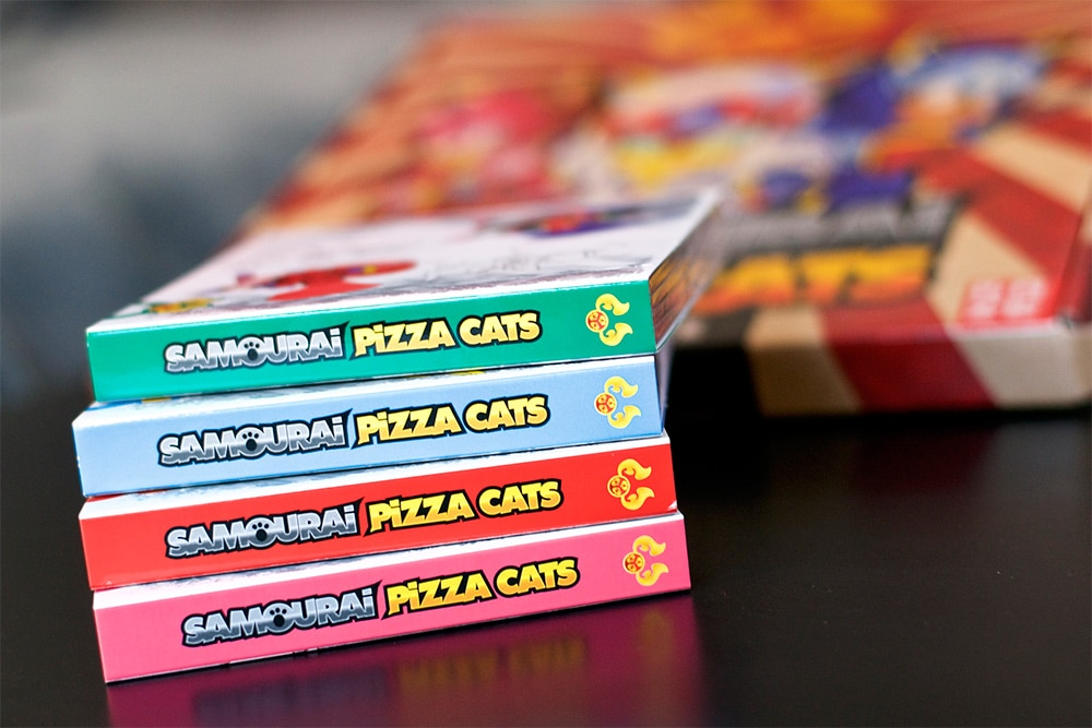 Samourai Pizza Cats Collector
