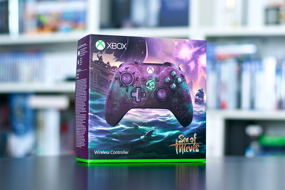 Unboxing Sea Of Thieves Collector Manette Xbox One