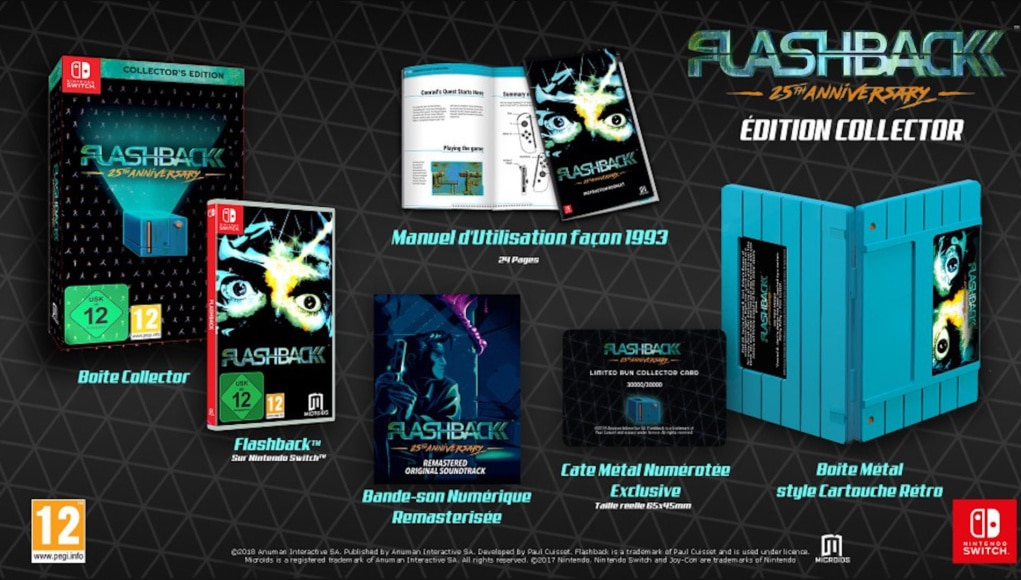 Flashback 25th anniversary collector switch
