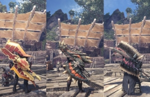 Monster Hunter World Morpho Hache Builds