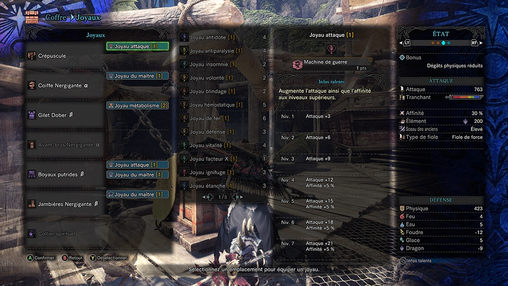 Monster Hunter World Morpho Hache Crepuscule Build