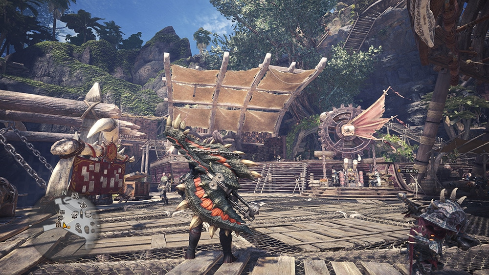 Monster Hunter World Morpho Hache Terreur Tyranos Build