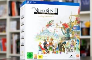 Unboxing Ni No Kuni 2 Collector King
