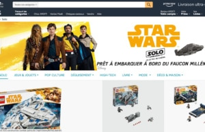 Boutique Amazon Star Wars