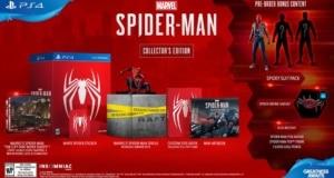 Precommande Spiderman PS4 Collector