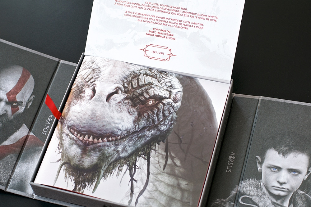 Press Kit God Of War PS4