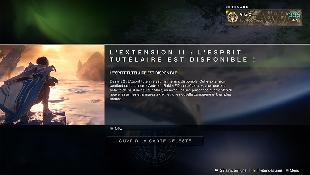Test Destiny 2 Extension 2 Esprit Tutelaire