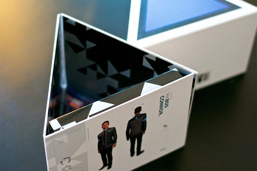 Unboxing Press Kit Detroit PS4