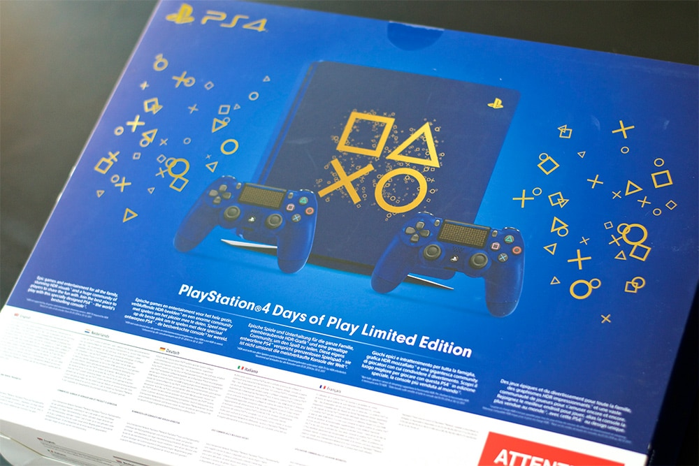 Unboxing PS4 Days Of Play Collector