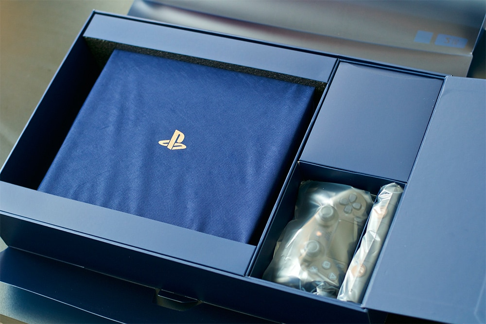 Unboxing PS4 Pro 500 Millions 500 M PlayStation