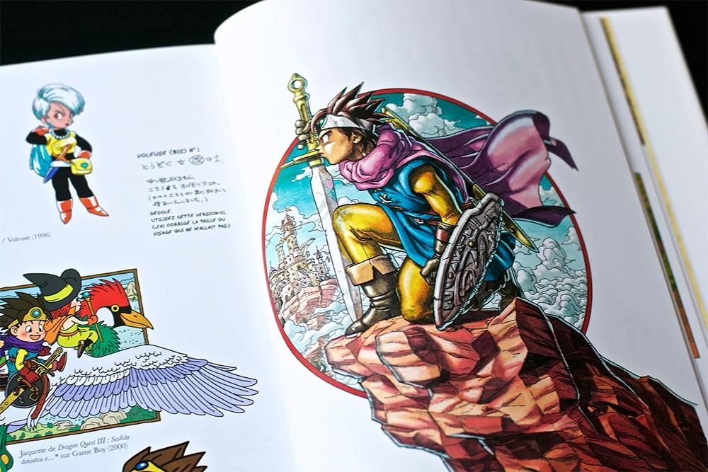 Artbook Dragon Quest Akira Toriyama