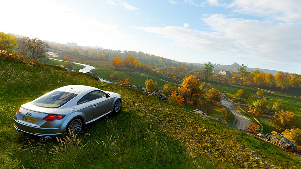Test Forza Horizon 4 Xbox One X