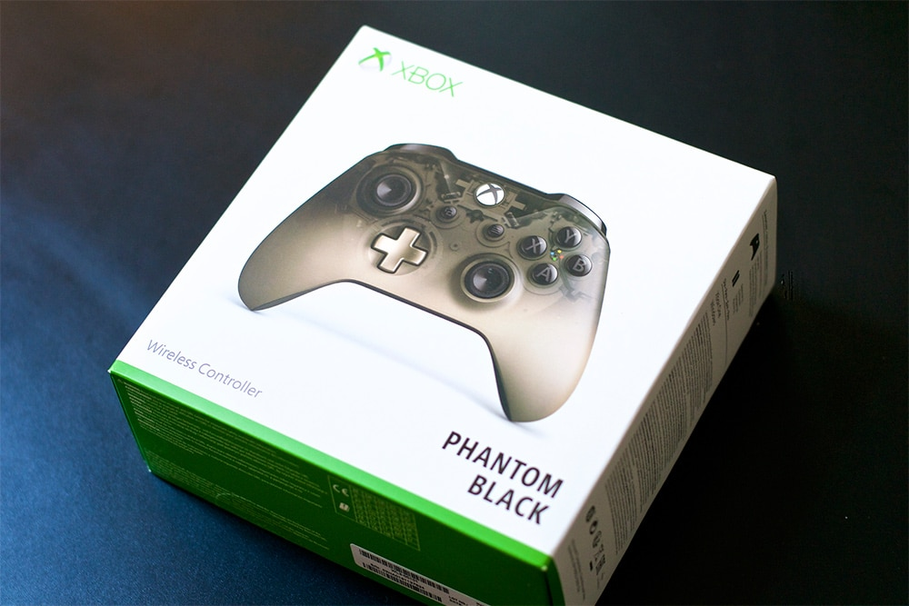 Unboxing Manette Xbox One Phantom Black