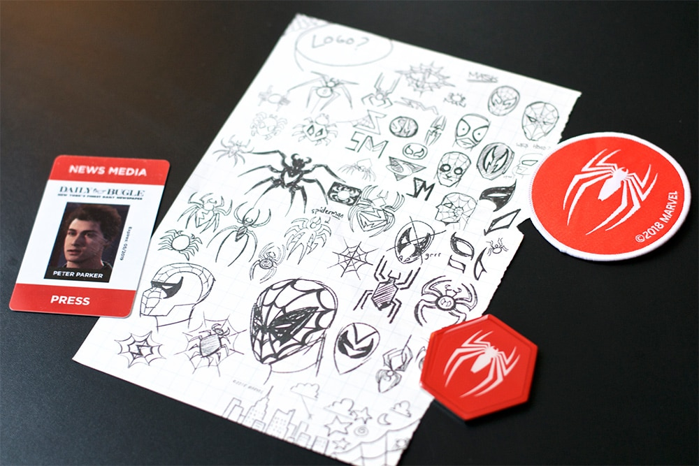 Unboxing Press Kit Spider-Man PS4