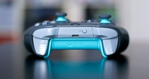 Manette Xbox One Grey and Blue