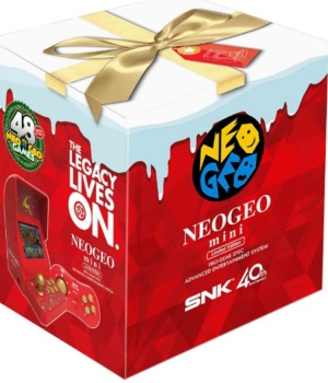 Precommande Neo Geo Mini Christmas Edition
