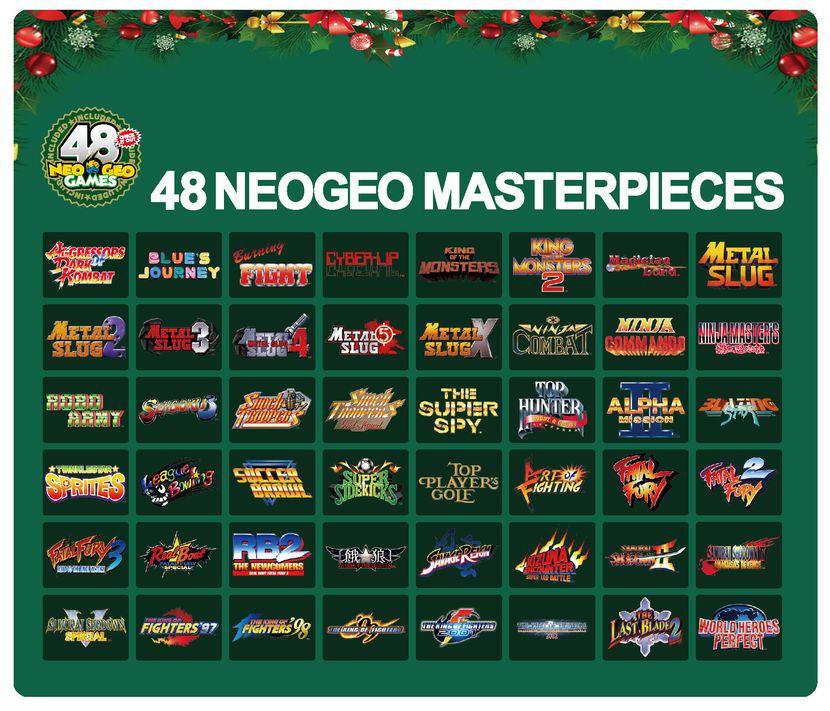Precommande Neo Geo Mini Christmas Edition