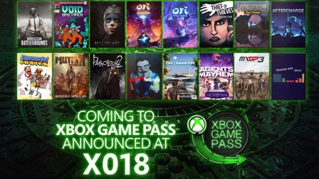 Resume X018 Xbox