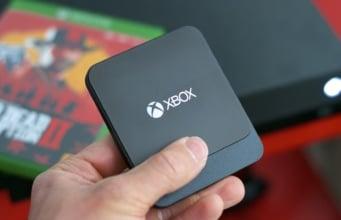 Test Disque Dur SSD Xbox One Seagate