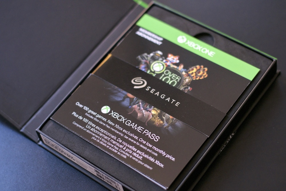 Test Disque Dur SSD Xbox One Seagate