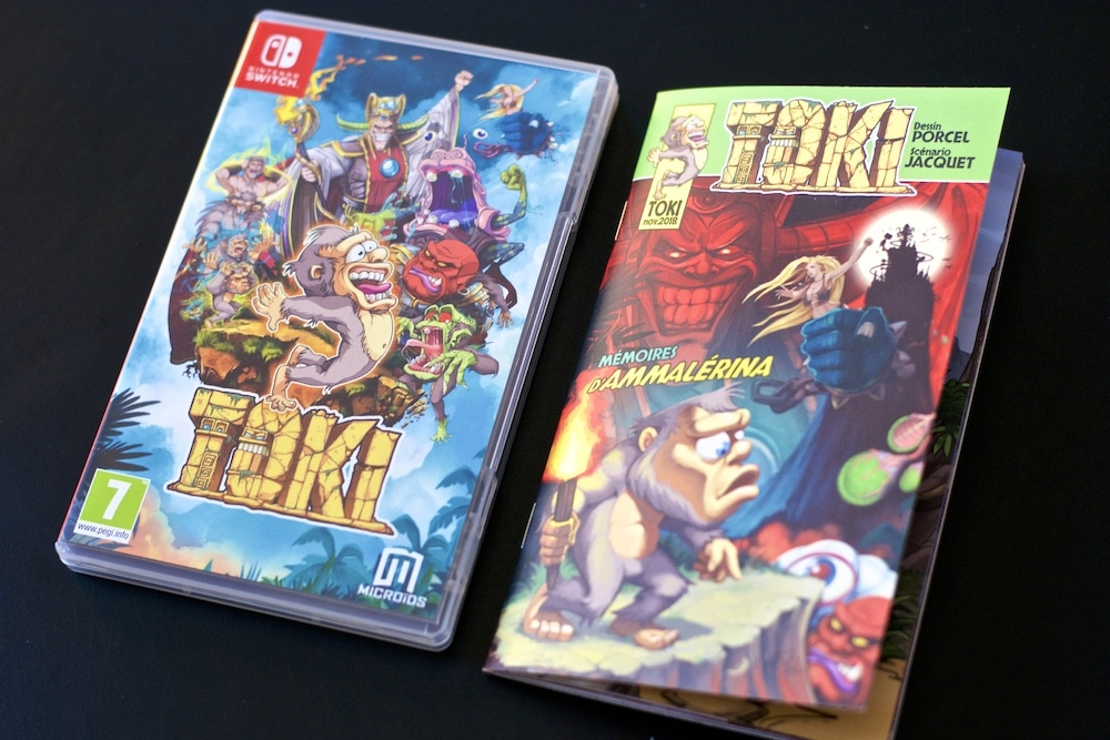 Unboxing Toki Retro Collector Switch