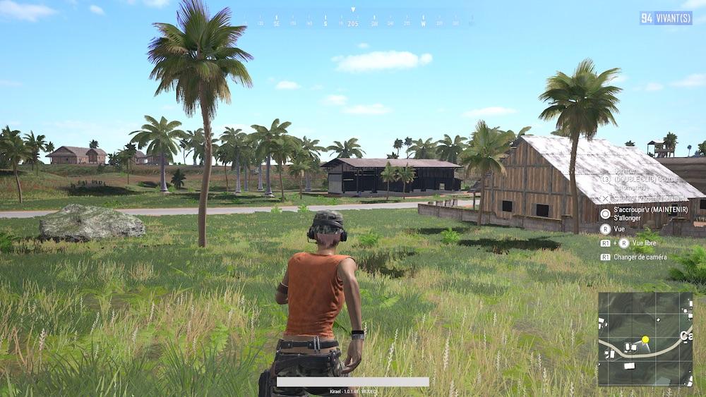 Test PUBG PS4 PRO
