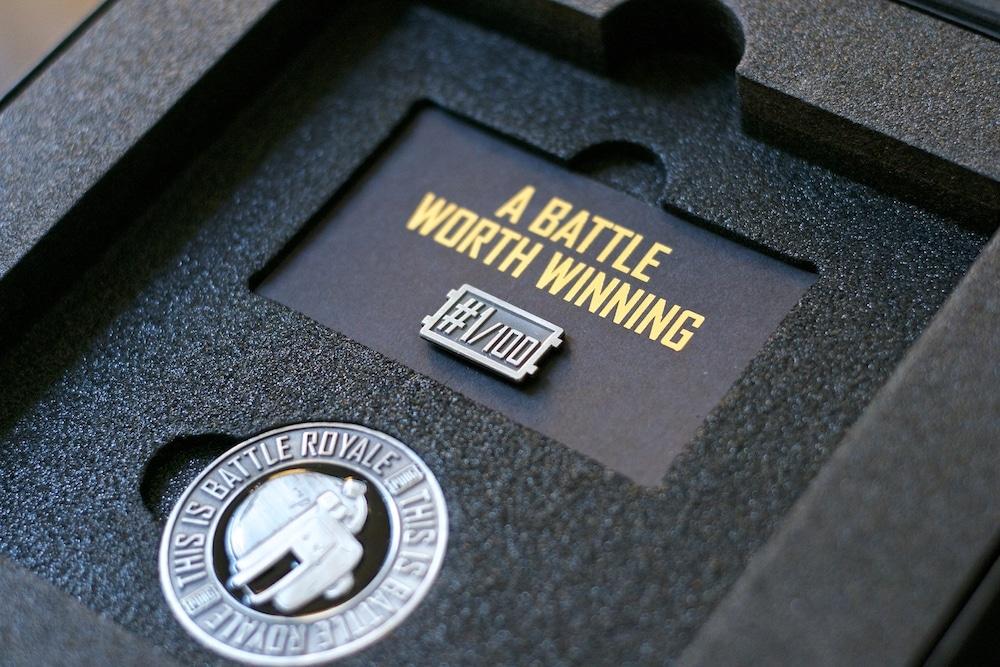 Unboxing Press Kit PUBG PS4