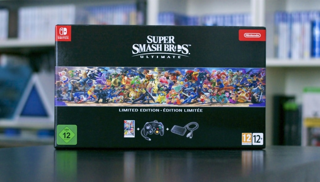 Unboxing Smash Bros Collector Switch