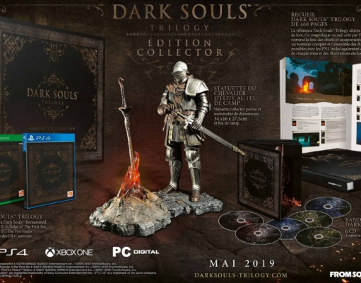 Dark Souls Trilogy COllector Premium