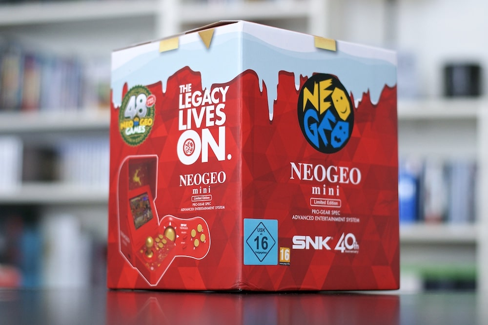 Neo geo Mini Christmas Collector