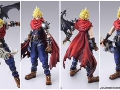 Cloud Kingdom Hearts Bring Arts Figure