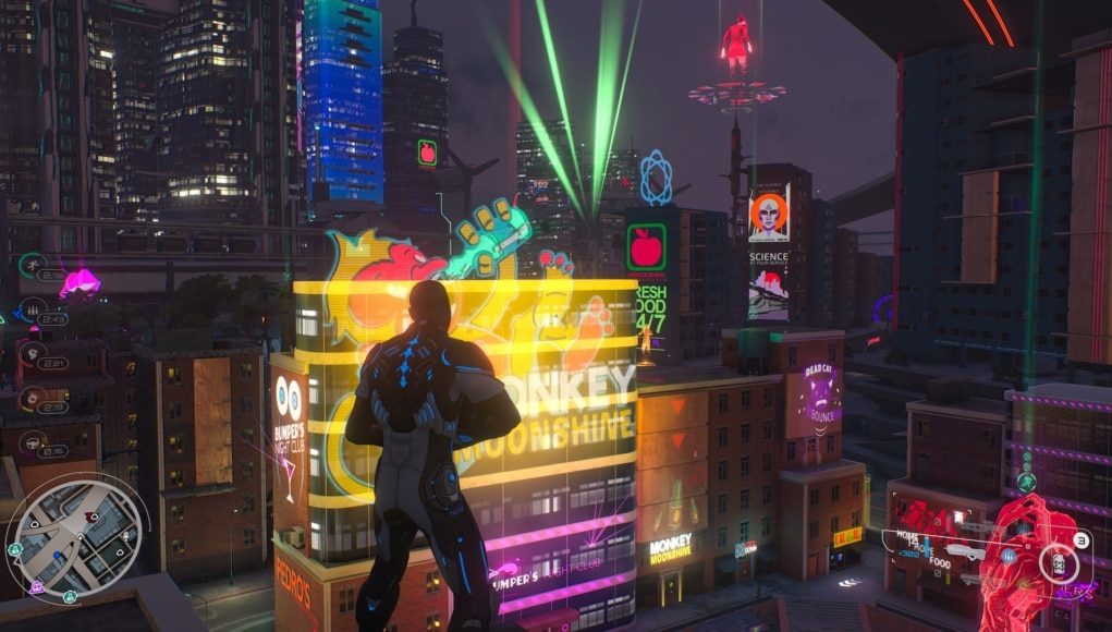 Test Crackdown 3 Xbox One X