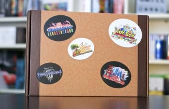 Unboxing Press Kit Kingdom Hearts 3