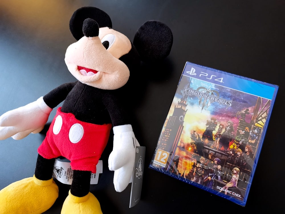 Unboxing Press Kit Kingdom Hearts 3