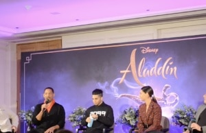Conference de presse Aladdin Will Smith