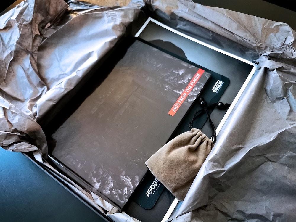 Unboxing Press Kit A Plague