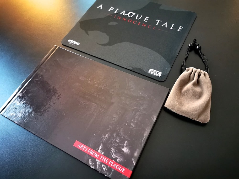 Unboxing Press Kit A Plague Tale Innocence