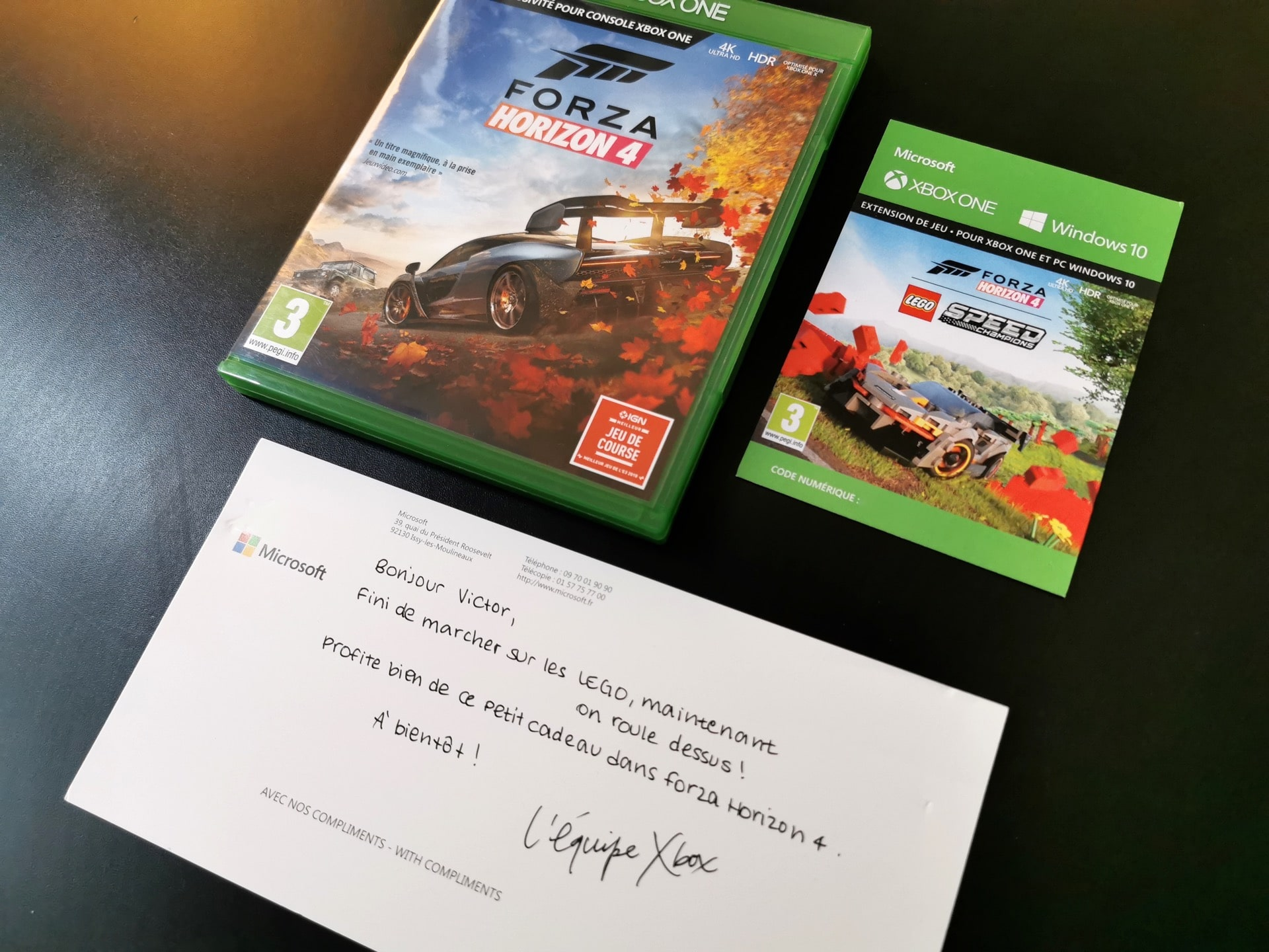 Unboxing Buzz Kit Forza Horizon 4 Lego Xbox One