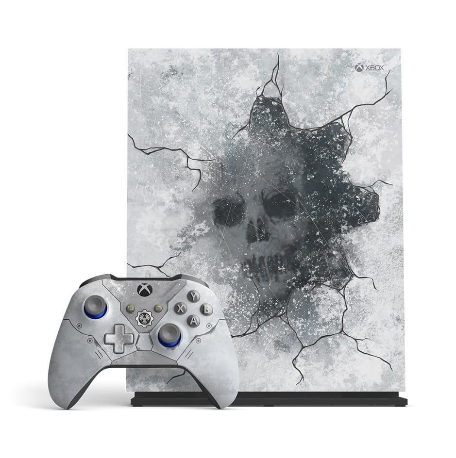Xbox One X Gears 5 Front