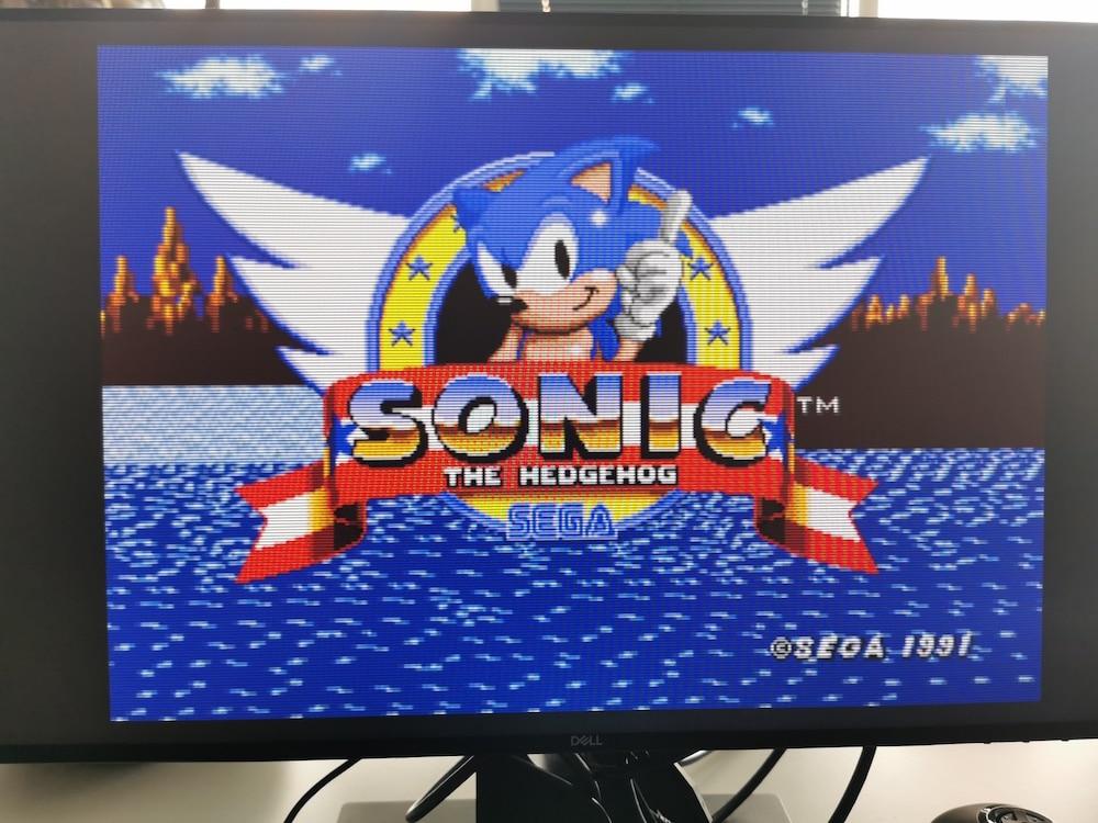 SOnic Preview Mega Drive Mini