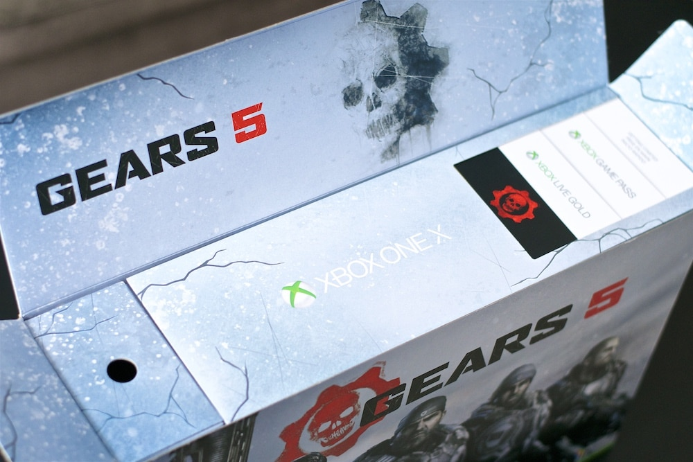 Console Xbox One X gears 5 collector