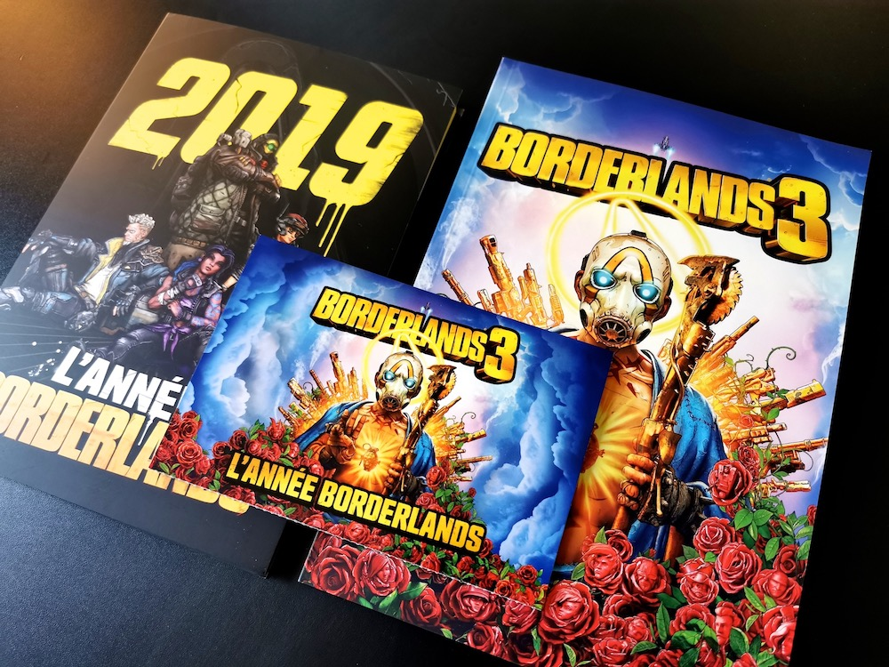 Arrivage Unboxing Press Kit Borderlands 3