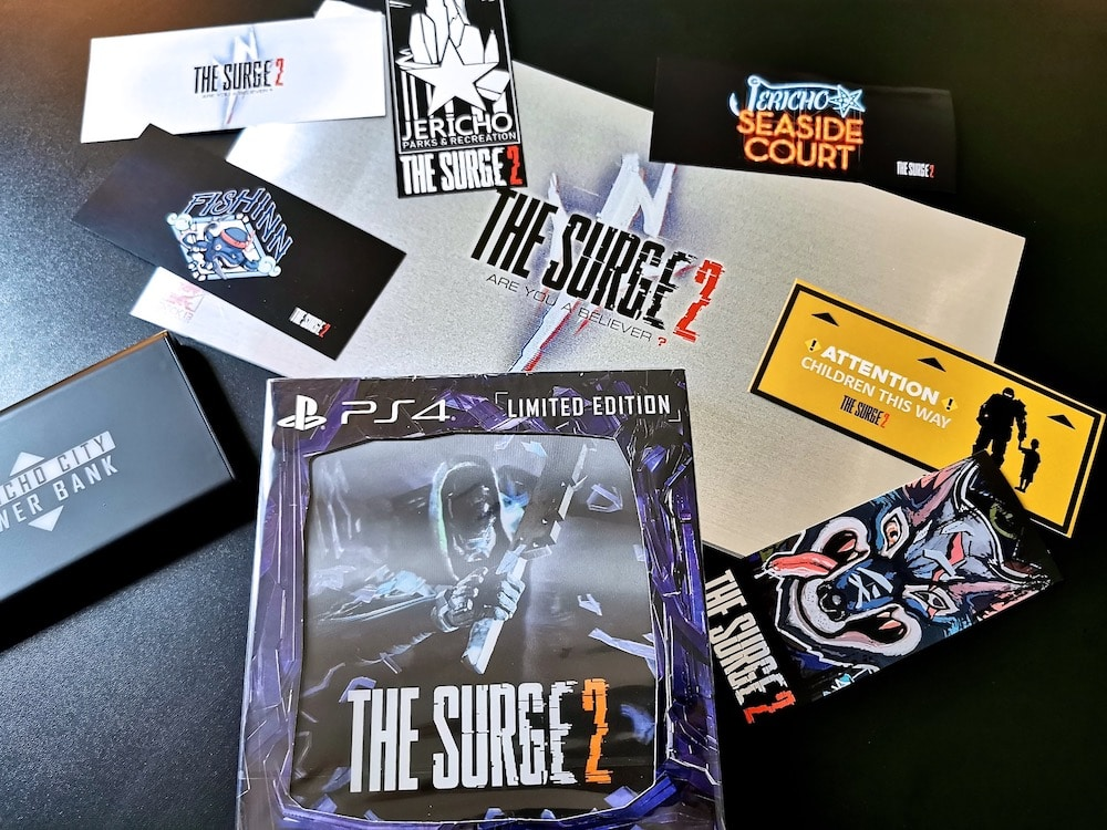 Arrivage Unboxing Press Kit The Surge 2