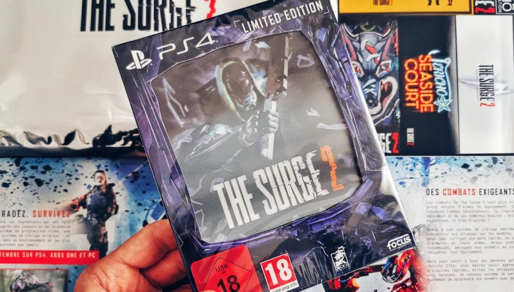 Concours The Surge 2 PS4