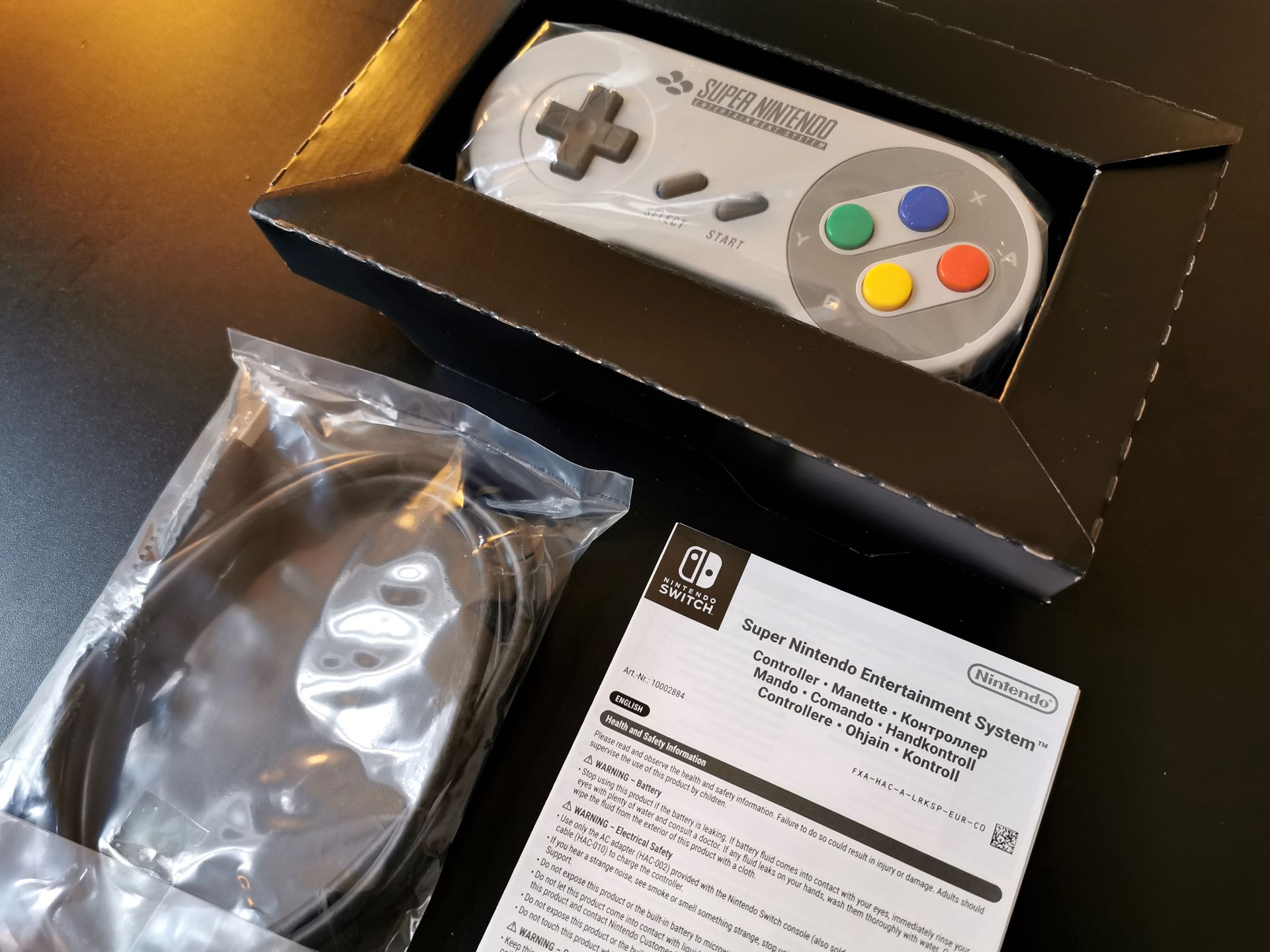 Manette SNES Nintendo Switch