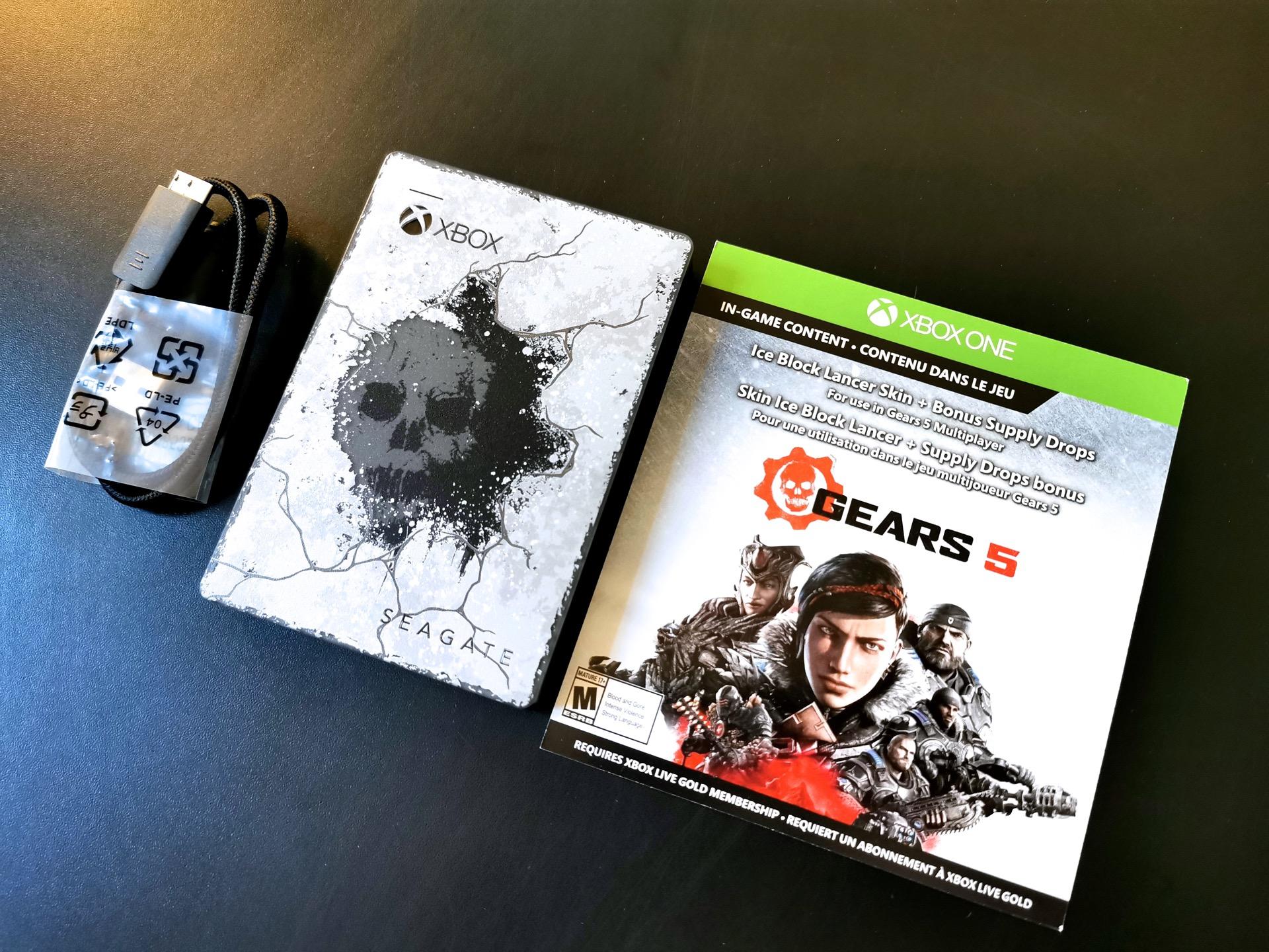 Xbox Seagate Gears 5