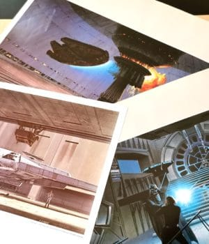 Star Wars Original Print McQuarrie
