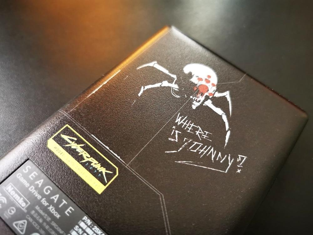 Seagate Xbox Cyberpunk 2077
