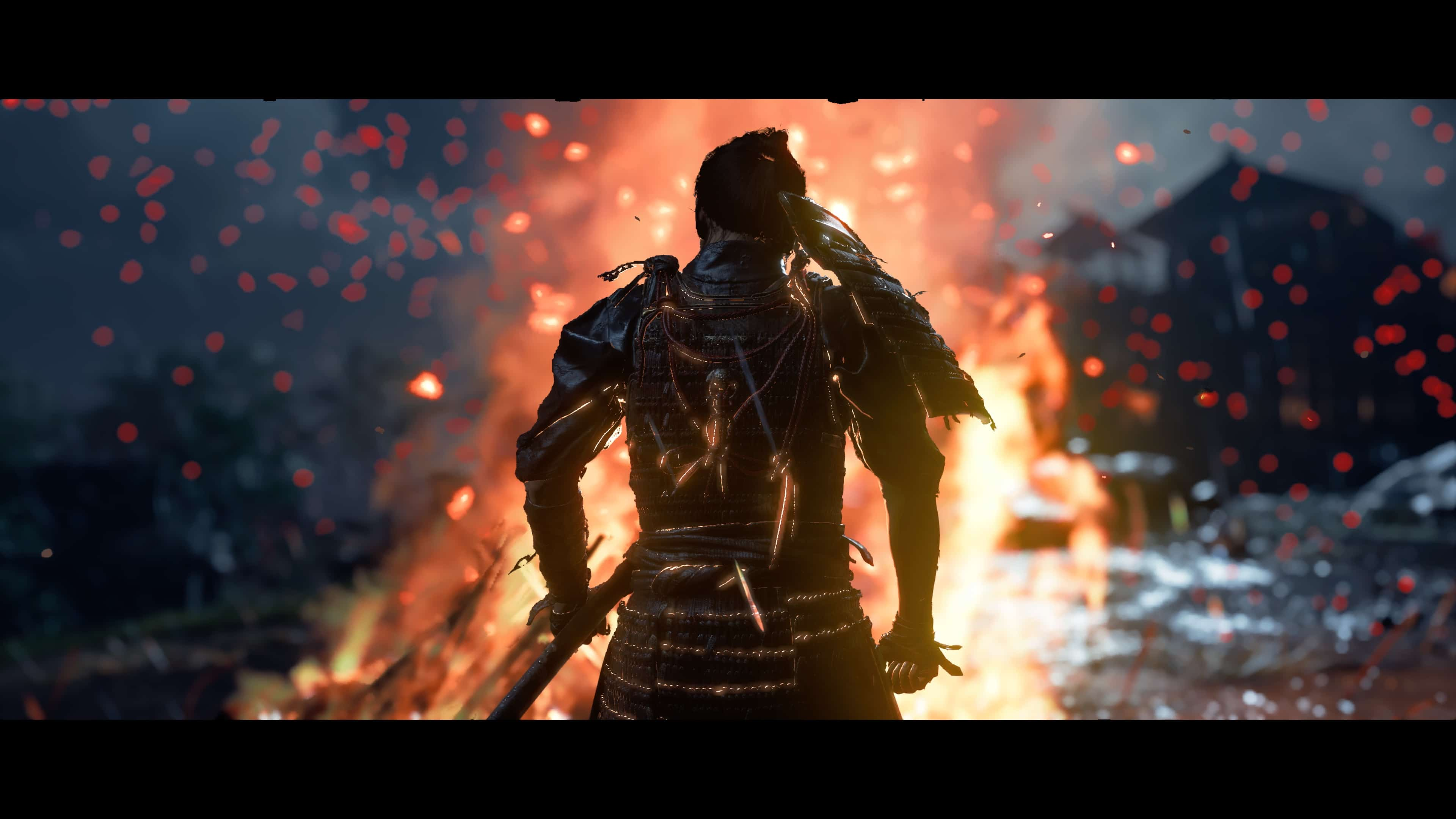 Ghost Of Tsushima PS4 Pro